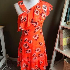 EXPRESS tropical dress